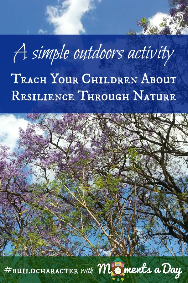 Teach your children about resilience through this simple outdoors activity