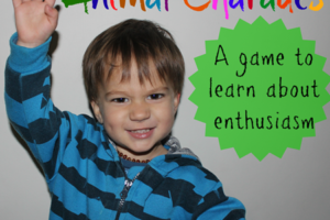 Practicing Enthusiasm With A Game