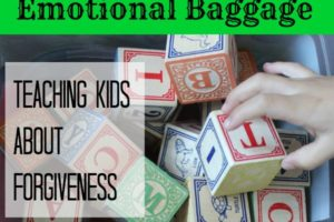 No Point Carrying Emotional Baggage