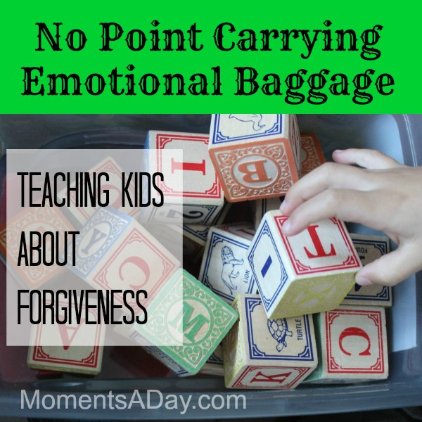 Activity to teach forgiveness