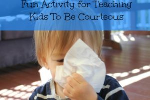 Sneezing Etiquette: Learning To Be Courteous