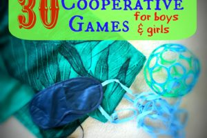 30 Cooperative Games for Preschoolers