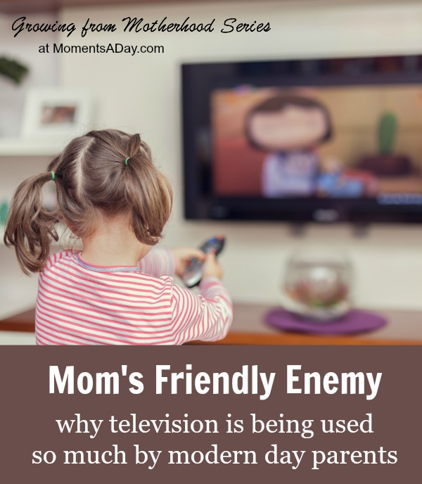 Why modern day parents let their kids watch so much TV