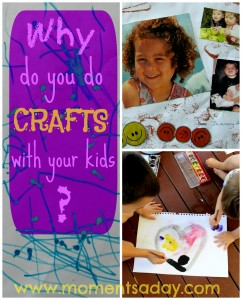 Why to do crafts with kids