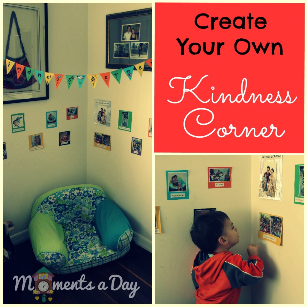 Create your own family kindness corner!