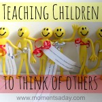 A Simple Random Act of Kindness: Teaching Children To Think Of Others