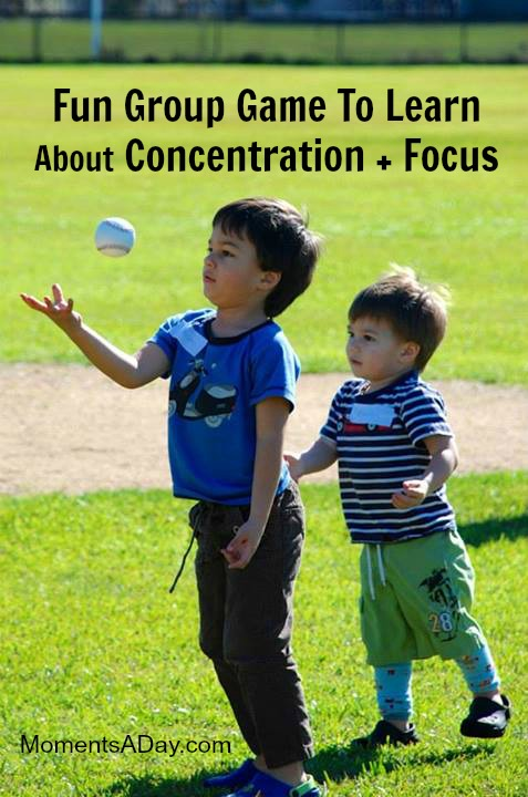 Fun Group Game To Learn About Concentration and Focus