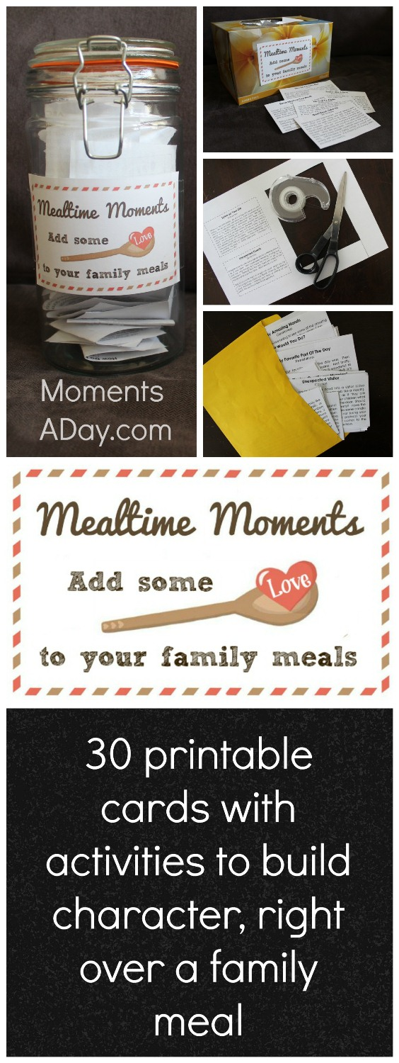Mealtime Moments Collage