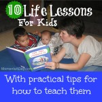 10 Life Lessons For Kids