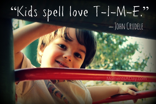 Kids Spell Love T-I-M-E (Magic Moments) - Moments A Day