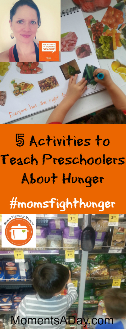 5 Activities to Teach Preschoolers About Hunger