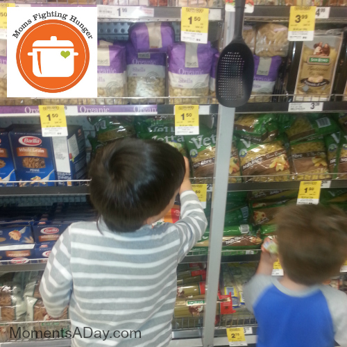 Trip to grocery store to learn about hunger