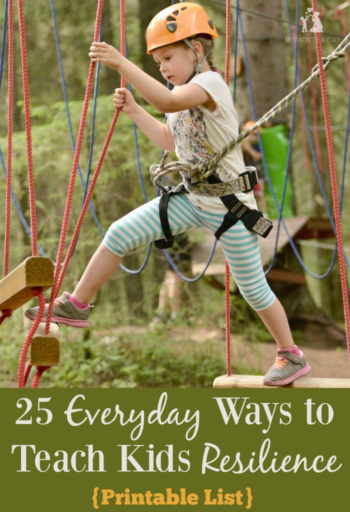 A practical (and printable) list of everyday ways to help kids develop resilience