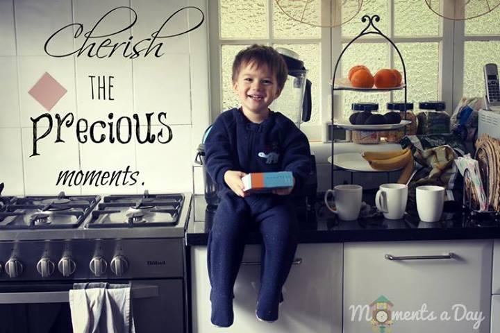 Cherish the precious moments