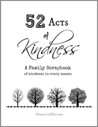 52 Acts of Kindness A Family Scrapbook 200