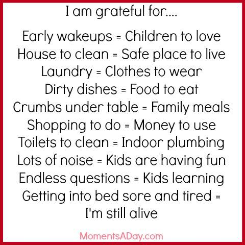 great to be grateful essay