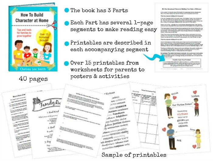 Give character building a central role in parenting and family – Character Building Worksheets