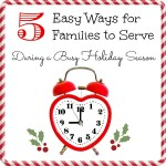 Easy Ways to Serve During the Holidays