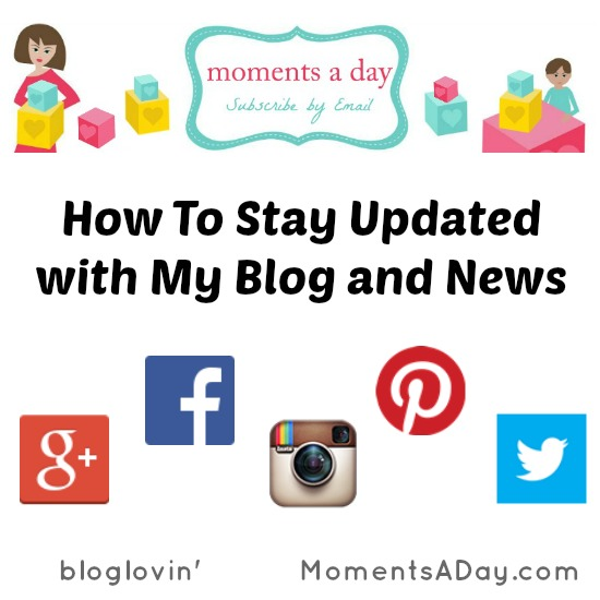 How To Stay Updated with My Blog and News