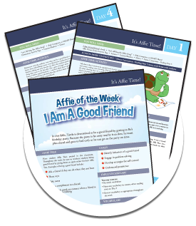 Lesson Plans from Affies4Kids