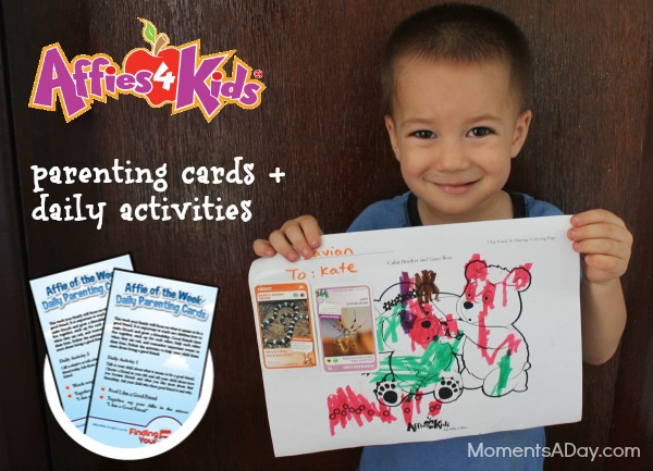 Parenting Cards from Affies4Kids