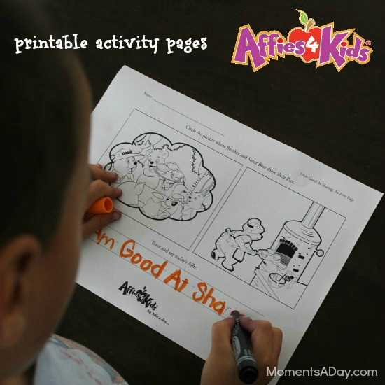 Printables Activity Pages from Affies4Kids
