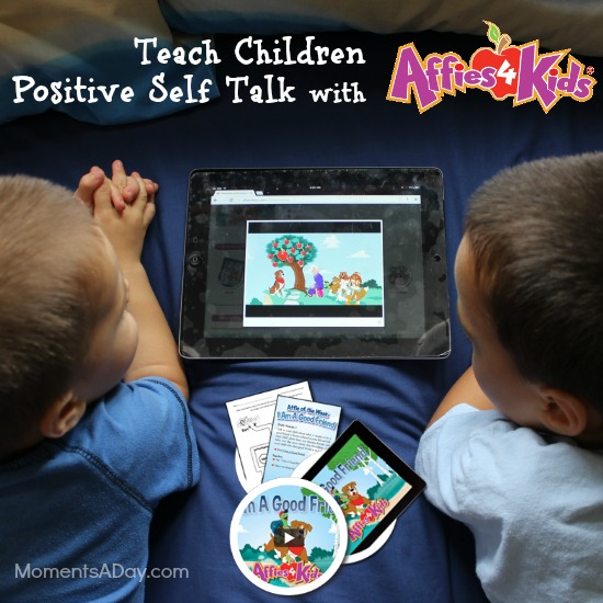 Teach Children Positive Self Talk with Affies4Kids