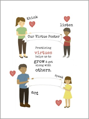 free virtues poster
