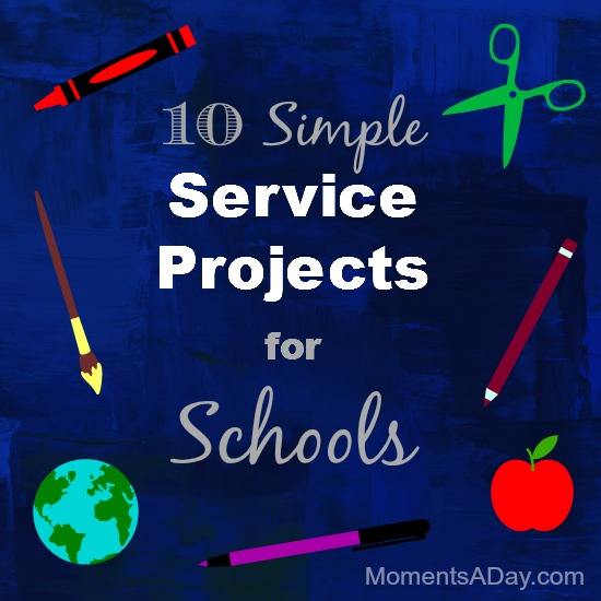 10 Simple Service Projects for Schools
