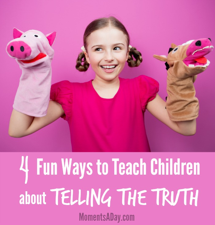 Activities to teach kids about truthfulness great for home or classroom