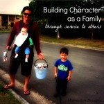 Building Character as a Family through Service to Others