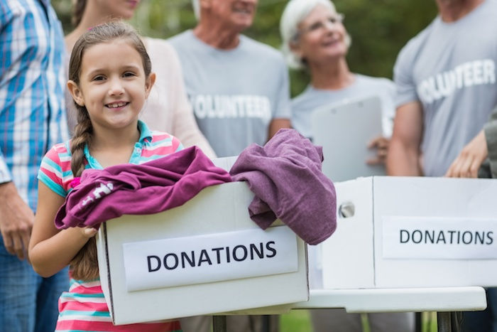 What kids learn from volunteering as a family