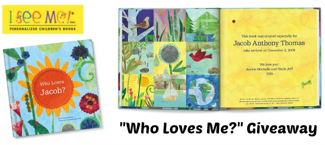 Who Loves Me Personalized Book by I See Me
