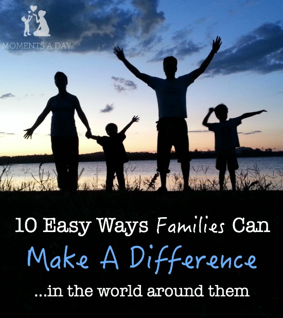 10 ideas for families to spread love beyond their families to those in need