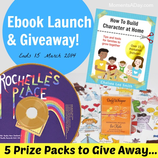 Ebook Launch and Giveaway ends March 15