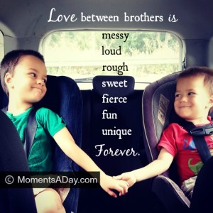 Fostering positive relationships between siblings