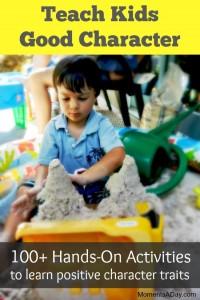 100 Activities to Teach Kids Good Character