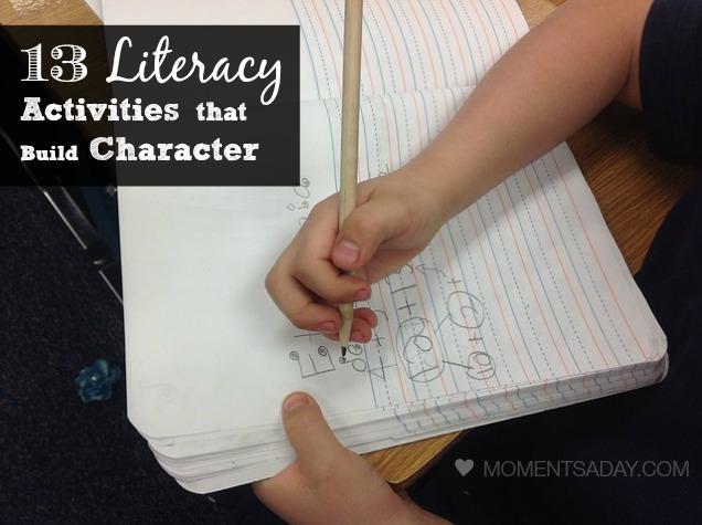 13 Literacy Activities That Build Character