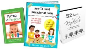three ebooks