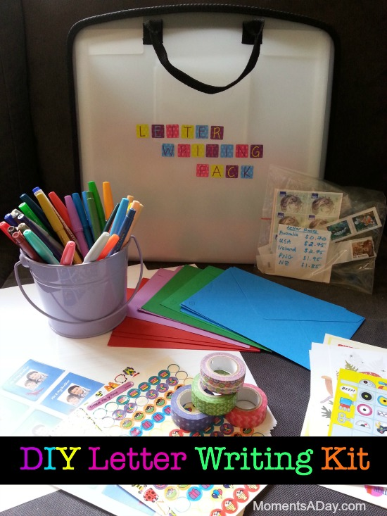how to make your own letter writing kit plus five reasons for why having pen