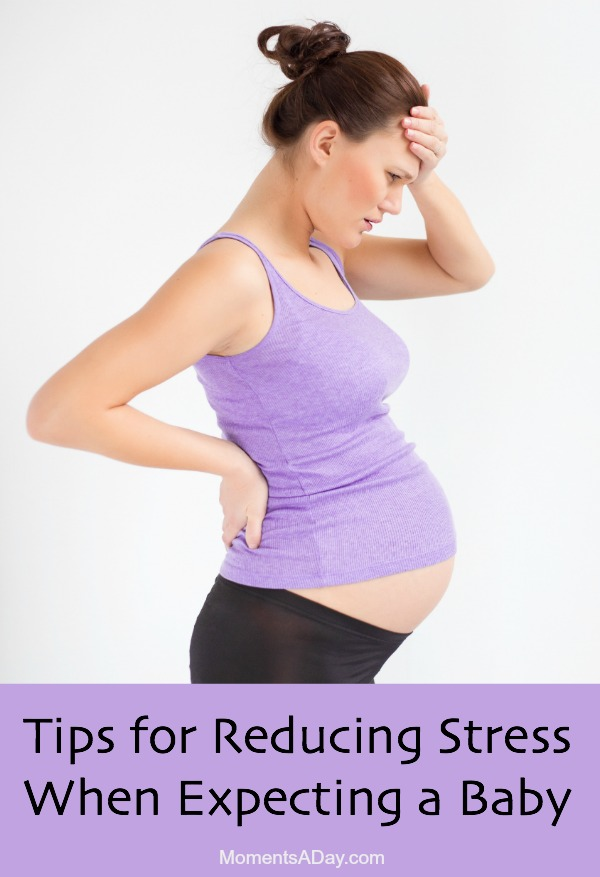 List of strategies for reducing stress when you are pregnant, especially for those expecting a second or third baby