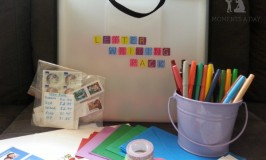 Put together your own Letter Writing Kit to make writing letters fun and easy