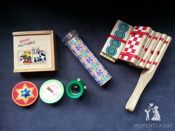 Make your own quiet time basket