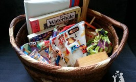 Quiet time basket - great for times you need the kids to stay still for a few minutes