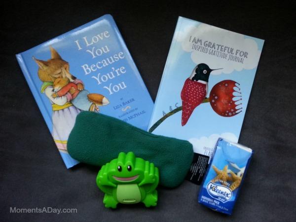 Supplies for a boo boo basket