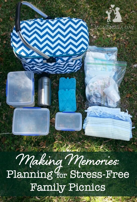 Tips and packing list for stress-free family picnics