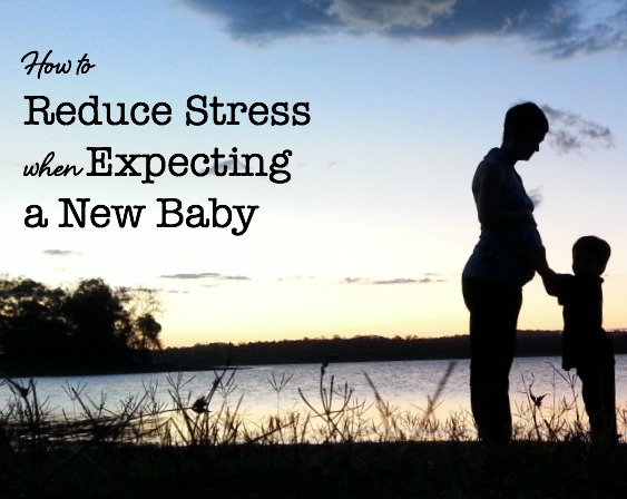 reducing maternal stress when pregnant