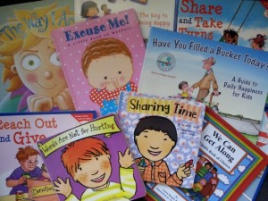 Books for kids that teach positive character traits