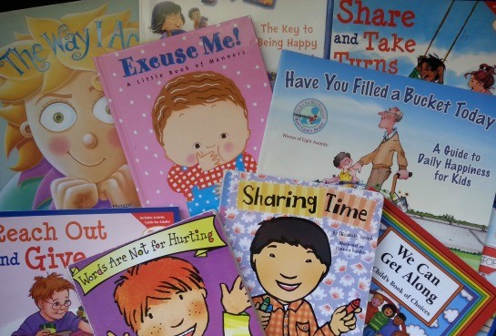 How to Build Character through Storytime with a list of books and sample questions