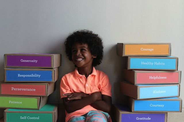 Character kits for kids to learn positive values